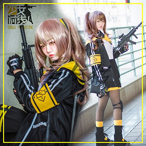 Price comparison product image Girls front line serv 45 girls front shoe boots girl front wig props