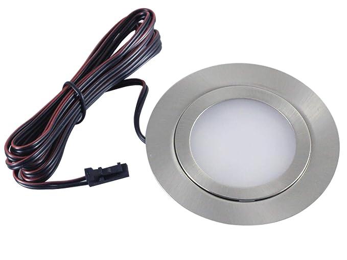 Beliebt LED Einbauleuchten flach Möbelleuchten Einbaustrahler SLIM 3W HIGH FX55