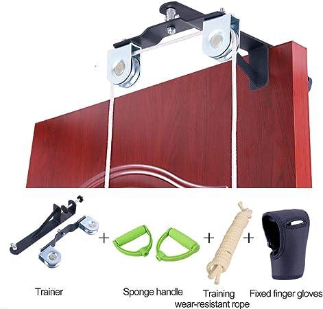 Wenore Hombro Polea Gimnasio,Poleas Gimnasio para Casa Biceps Maquina Multifuncion Musculacion Fitness En Casa Material