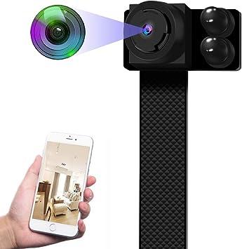 Opinión sobre Mini Cámaras Espía Ocultas Camuflaje - 13 Horas Grabación Cámara Seguridad Inalámbrica Portátil WiFi IP Full HD 1080P con Detección Movimiento Visión Nocturna Automática