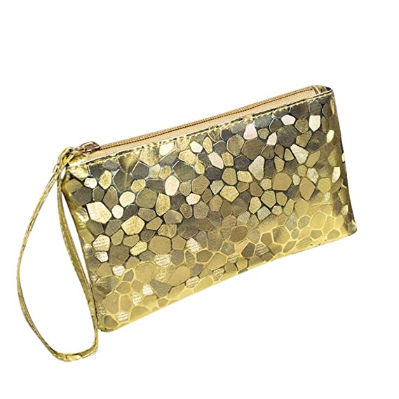 Ladies Party Black Silver Gold Sequin Glitter Bling Evening Clutch Bag Handbag Clothes, Shoes & Accessories