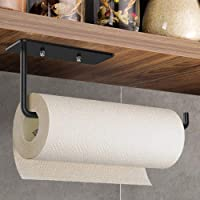 Vanwood Paper Towel Holder Under Cabinet Mount, Kitchen Adhesive Paper Holder Stick On Wall Horizontal or Vertical…
