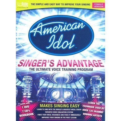 Read Online American Idol Singer's Advantage - Female Version (Deluxe Size Package) pdf