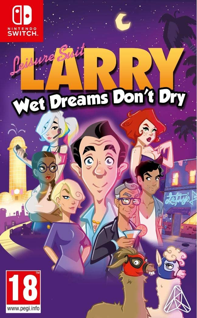 Leisure Suit: Larry - Wet Dreams Dont Dry - Nintendo Switch ...
