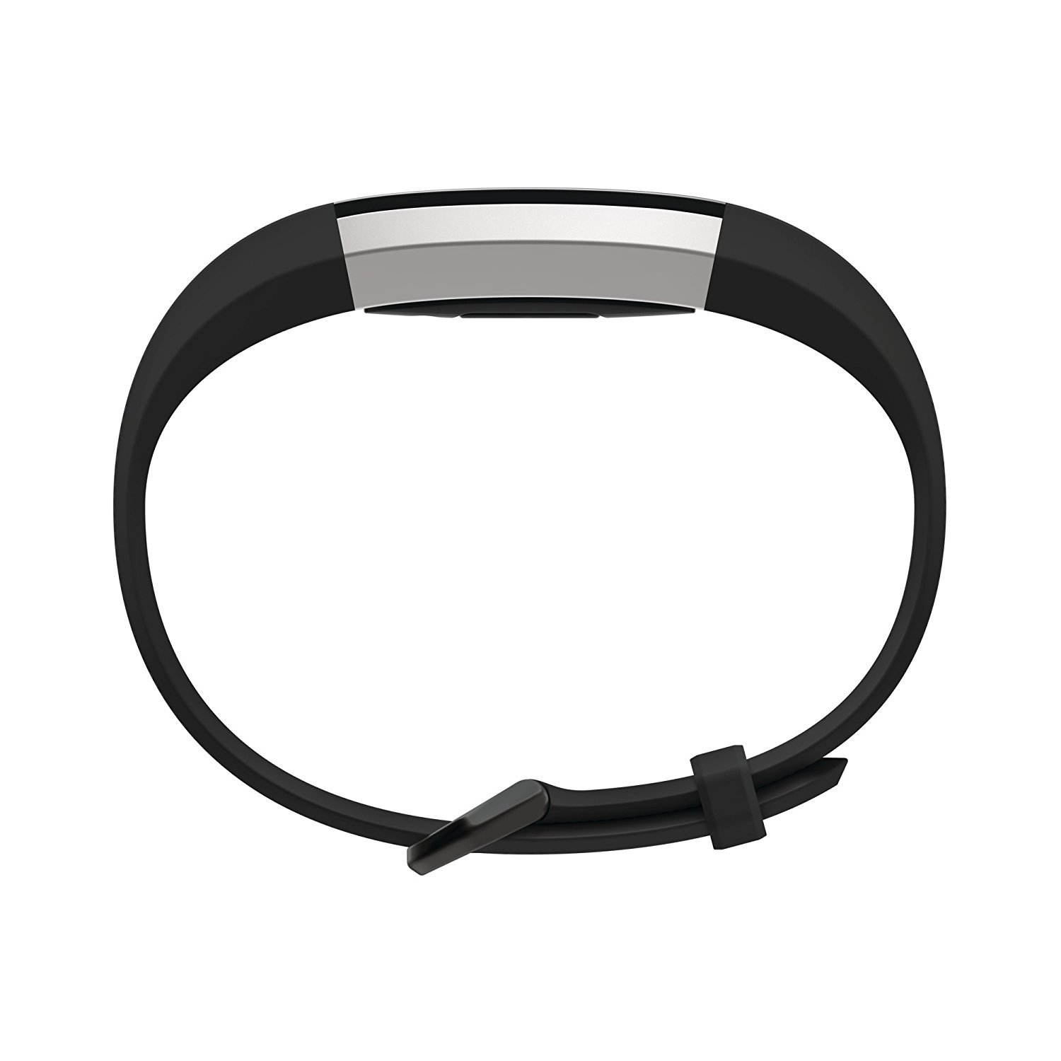 Fitbit Alta HR Activity Tracker, Large, Black FB408SBKL Renewed
