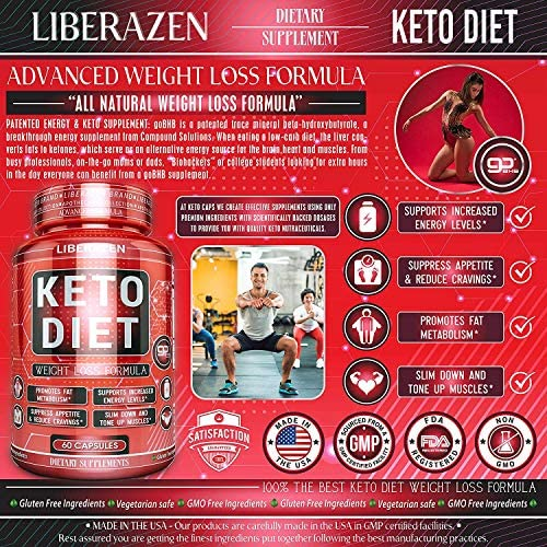 Keto Diet Pills - Instant Exogenous Ketones for Fuel and Natural Burn and Fat Loss Blast - Advanced Weight Loss Pure Keto Supplements for Fast Ketosis - 60 Capsules 4