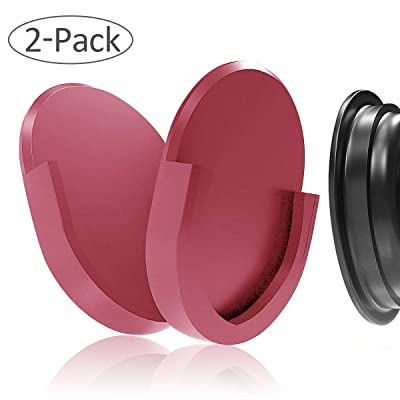 WERONE [2 Packs] Car Phone Mount for Grips Stand and Grips,Most Stable & Durable Cell Phone Holder (Pink)