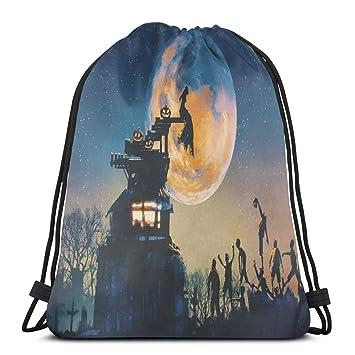 Nisdsgd Drawstring Shoulder Backpack Travel Daypack Gym Bag ...