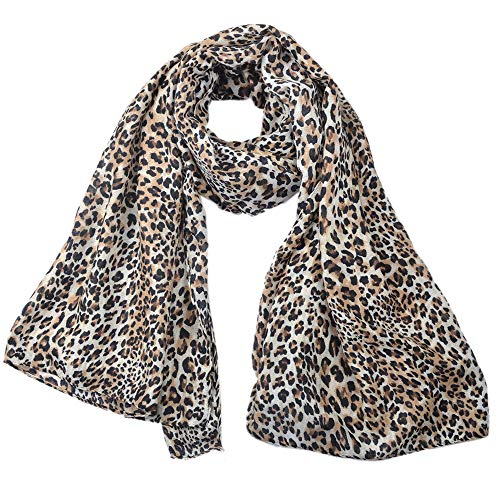 2019 fashion cotton and linen leopard print thermal scarf long versatile women's sunscreen dual-use shawl - Linen Cotton Scarf Prints