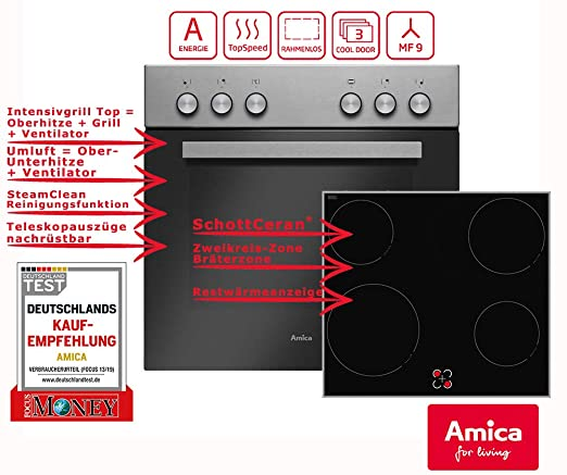 Amica EHC 933 021 E sets de electrodoméstico de cocina ...