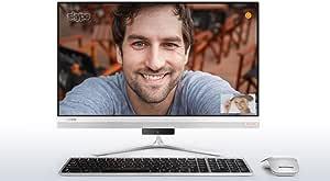 كمبيوتر لينوفو ايديا سنتر AIO 520s الكل في واحد - انتل كور i7-7500U، شاششة 23 انش لمس، 1 تيرا، رام 8 جيجا، 2 جيجا في جي ايه، ويندوز 10، فضي