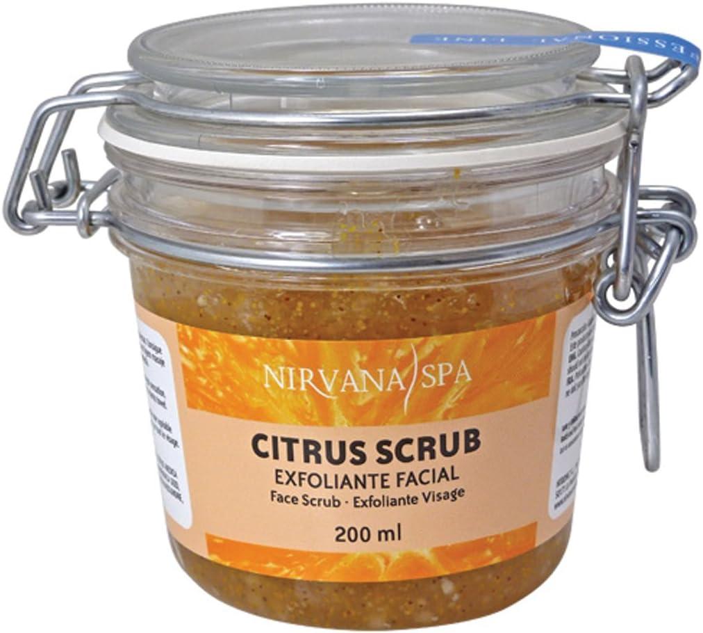 Nirvana Spa Citrus Scrub, 200 ml, Pack de 1