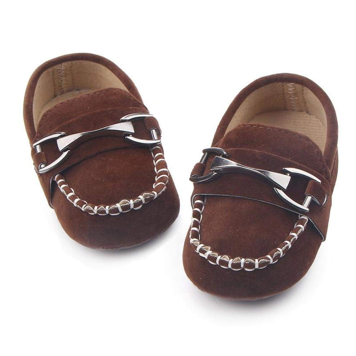 Kitty Baby Boys' Brown Loafer -3 Kids