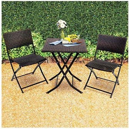 Amazon Com Rio Brands Fws25 Ts Seville 3 Piece Bistro Set Garden Outdoor