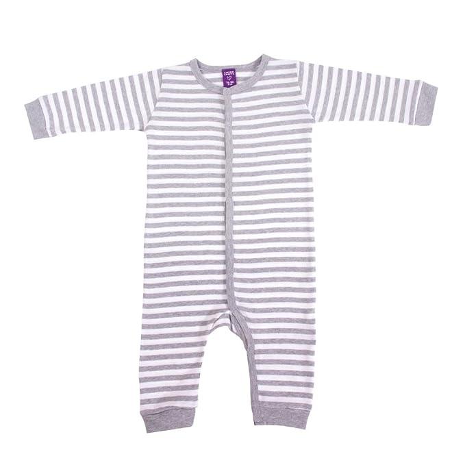 Pijama fino sin pies bebé 100% algodón orgánico (74/80)