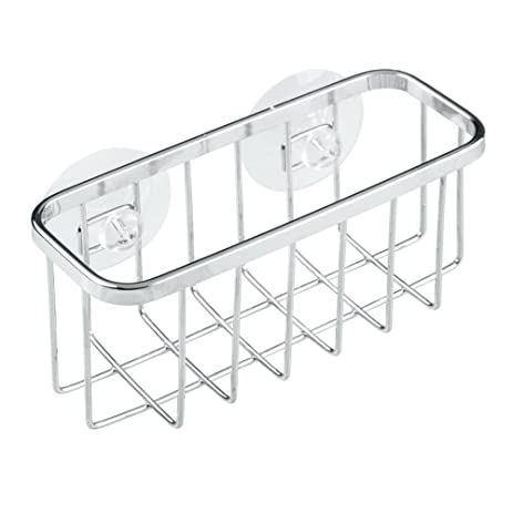 Amazon.com - InterDesign Gia Suction Kitchen Sink Caddy, Sponge ...