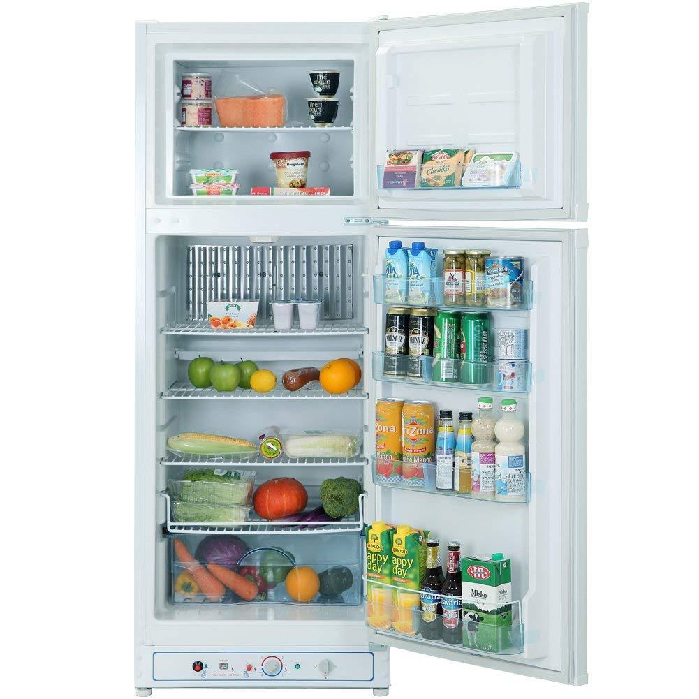 Smad Refrigerador-Congelador de Gas/AC 220v 260L 38 dB Frigorífico ...