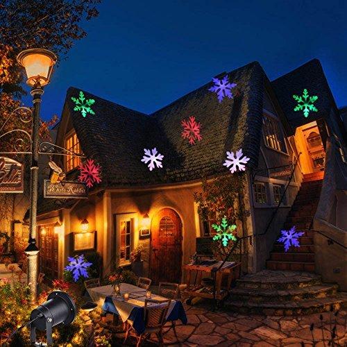 Window Snow Lights Projector Indoor Winter Wonderland