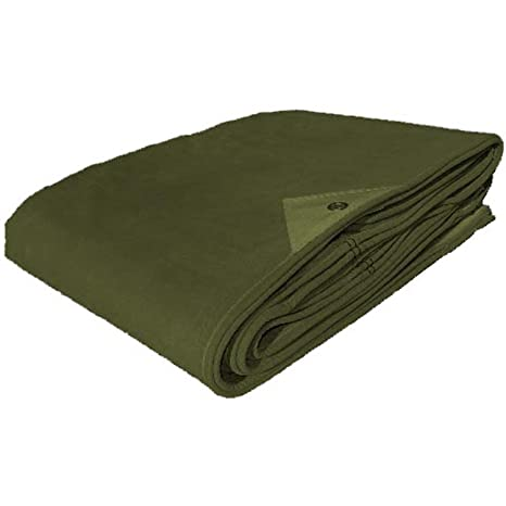 Military Outdoor Clothing New Heavy Duty Canvas Tarp