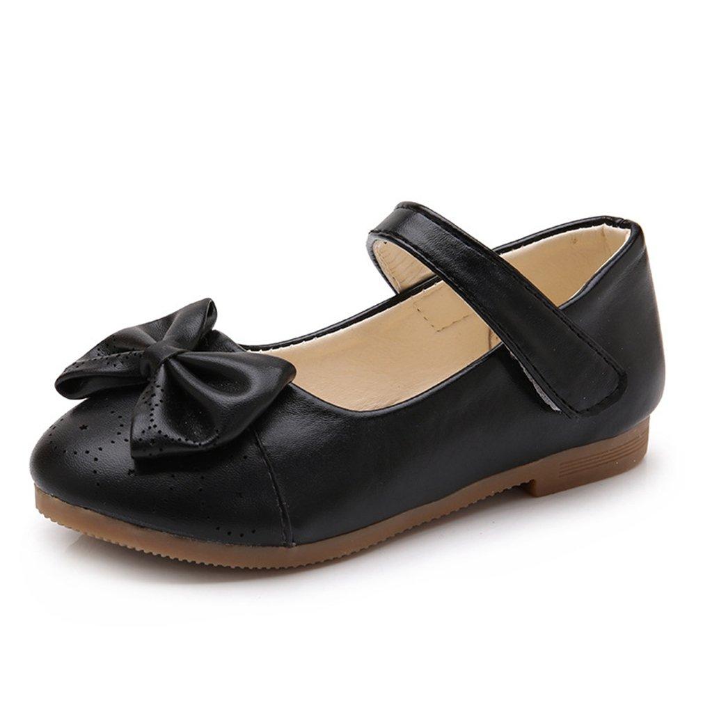 CYBLING Girls Mary Jane Ballet Flat Dress Shoes Princess Fashion School Uniform Oxfors Shoes