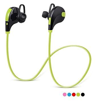 Auriculares Bluetooth 4.1 LoveSelfy Audífonos Inalámbricos In-ear Deportivos con Mic Larga Duración hasta 8 Horas Ajuste Cómodo, V4.1 Auricular Running ...