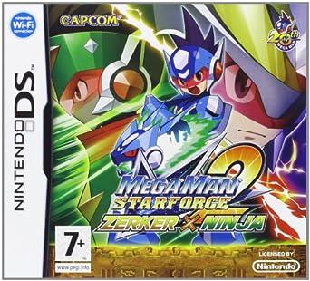 Amazon.com: Mega Man Zerker X Ninja DS: Video Games