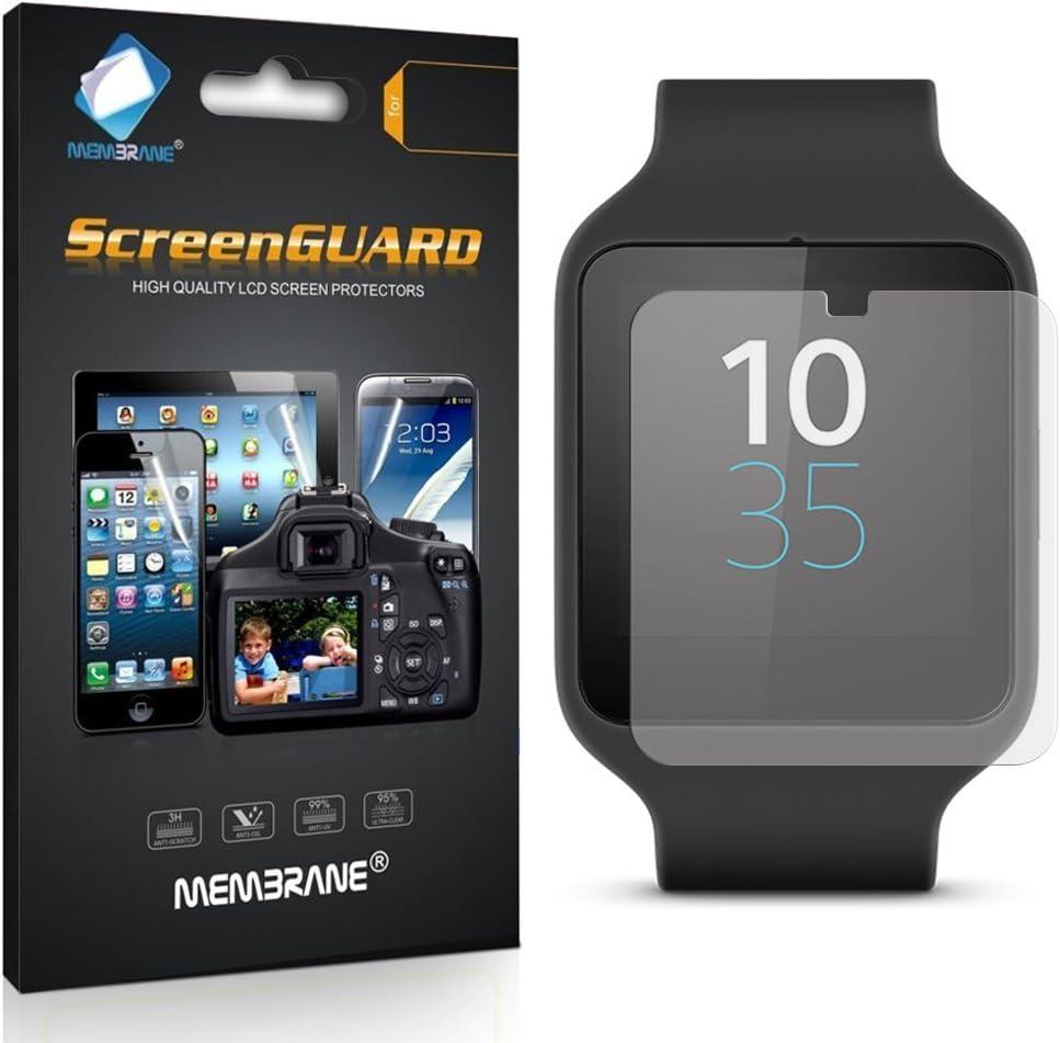 Membrane 3 x Protector de Pantalla compatibles con Sony Smartwatch ...