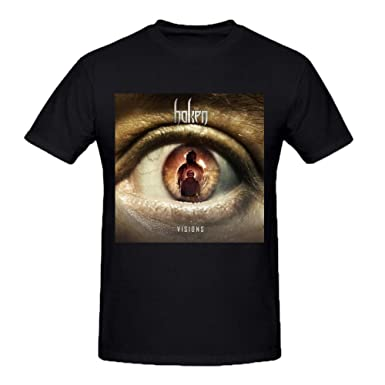 Haken Visions Funny Tee Shirts For Men Amazoncouk Clothing