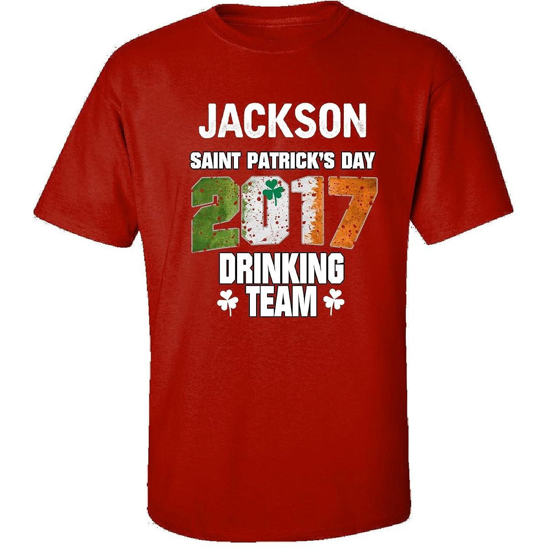 Jackson Irish St Patricks Day 2017 Drinking Team - Adult Shirt