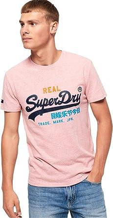 TALLA S. Superdry Vintage Logo Tri tee Camiseta de Tirantes para Hombre