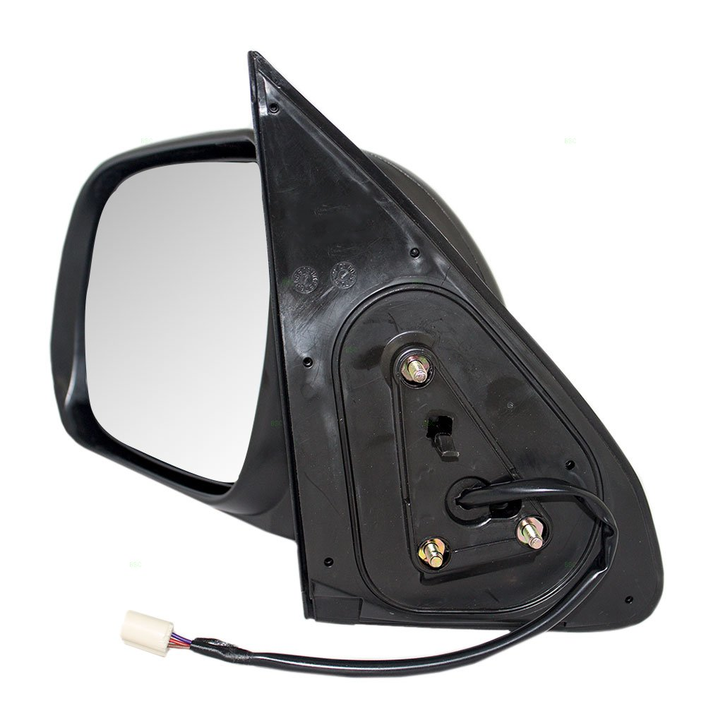 Drivers Power Side View Mirror Textured Replacement for Toyota Tacoma Pickup Truck 87940-04201 AUTOANDART