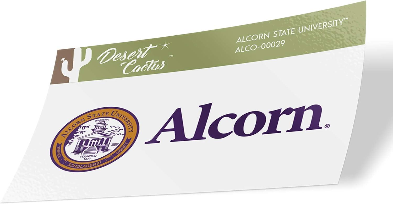 Alcorn State University ASU Braves HBCU NCAA Vinyl Decal Laptop Water Bottle Car Scrapbook (Sticker - 00029)