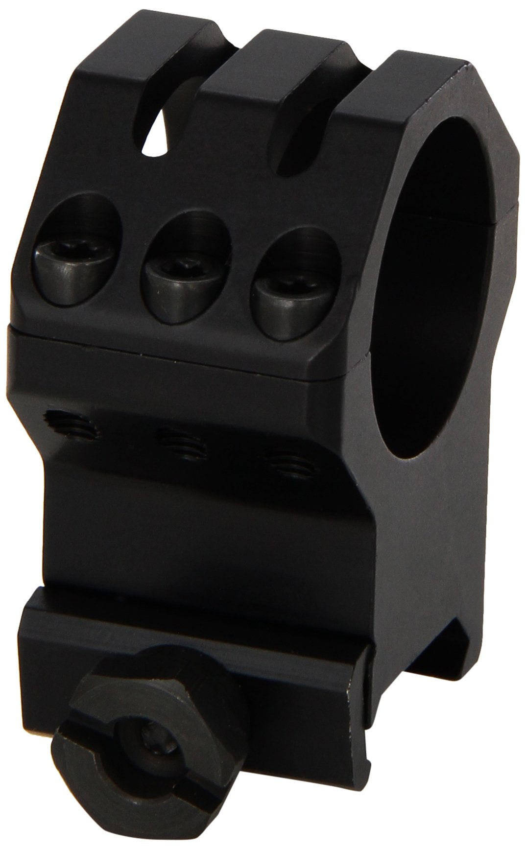 WEAVER 1-Inch Six Hole Tactical XX-High Rings (Matte Black) by WEAVER