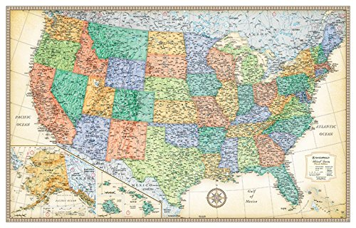 detailed united states map - 5