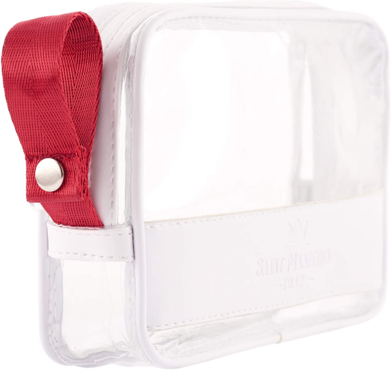 Kulturbeutel Transparenter Kosmetiktasche f/ür Koffer Transparente Toilettentasche Damen /& Herren Schwarz Kulturtasche zum Transport von Fl/üssigkeiten 2 Durchsichtige Flugzeug Beutel