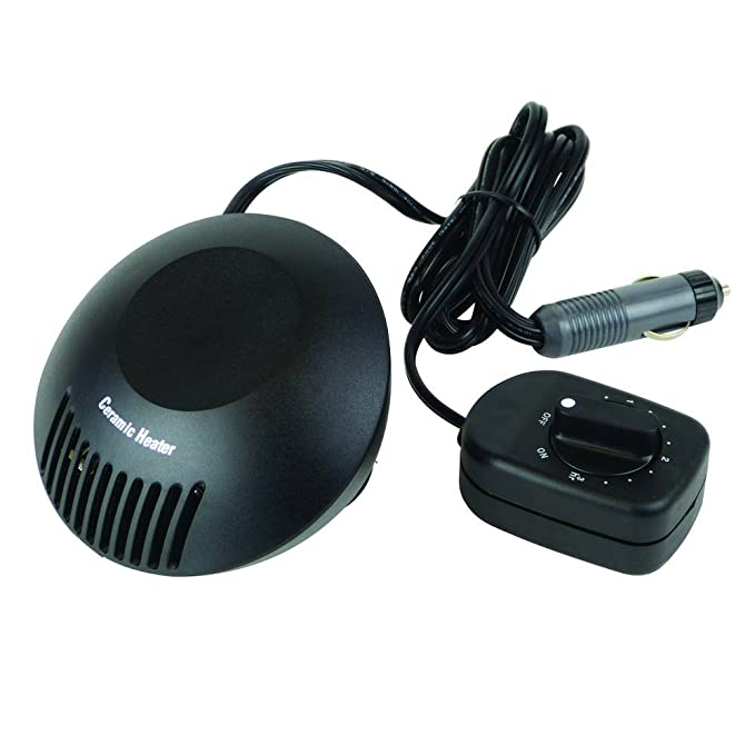12V 150W SUMMIT CCH-2T Ceramic Car Heater /& Timer