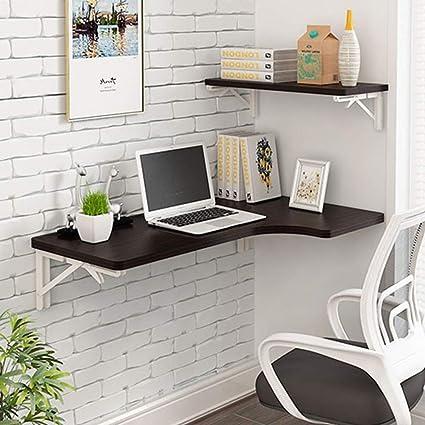 Amazon.com: Virod-Home Office Desks Wall-Mounted Fold Drop ...