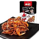 China food co. LTD. 绝艺大辣卷卷鱿鱼118g鱿鱼片麻辣卤味休闲真包小包装零食小吃