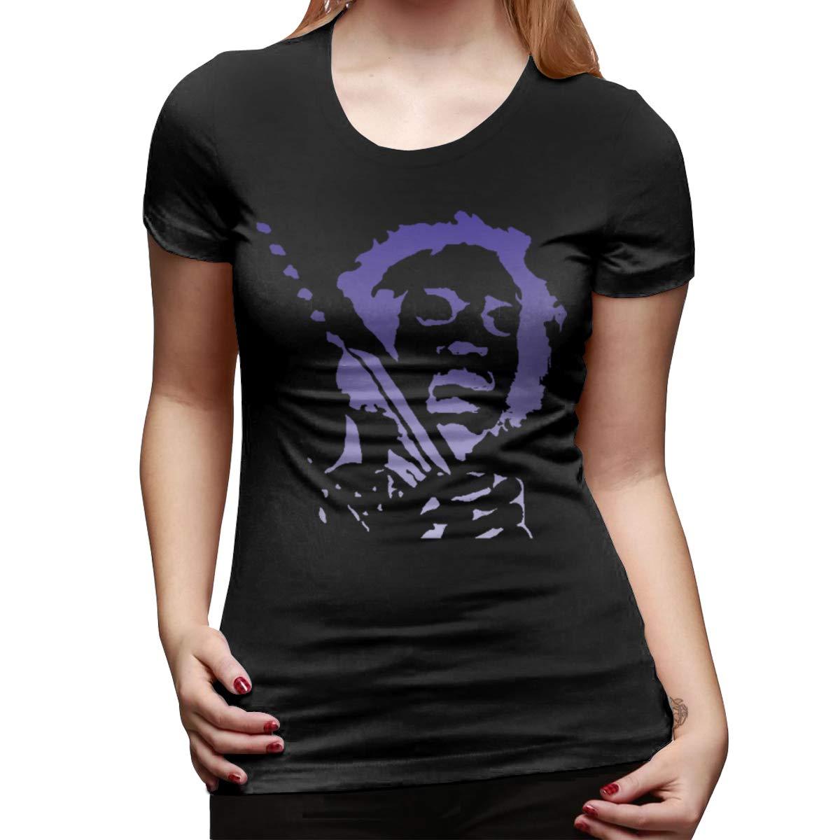 Jimi Hendrix Ultra Soft Round Neck Short Sleeve Ts Shirts