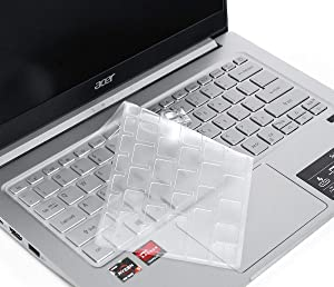 CaseBuy Ultra Thin Keyboard Cover for Acer Spin 3 2-in-1 Convertible Laptop 14 inch 3 SF313-51 SF314-42/52/53/54/55/57, SP314-51/52/53N/53GN, Acer Spin 3 Keyboard Cover, Acer Spin 3 Accessories, TPU