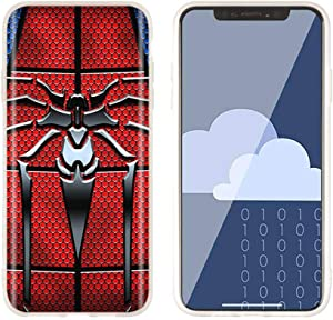 Aestgirl iPhone 11 Pro 11 Xs Max XR XS X 7 8 6 6S Cool Case iPhone Case Spider-Man Soft iPhone Case AC212 (Xs Max)