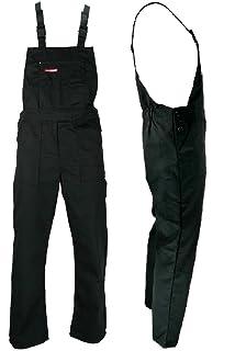 0e046333eca REIS Black Bib and Brace Overalls Painters and Decorators Work Trousers  Master