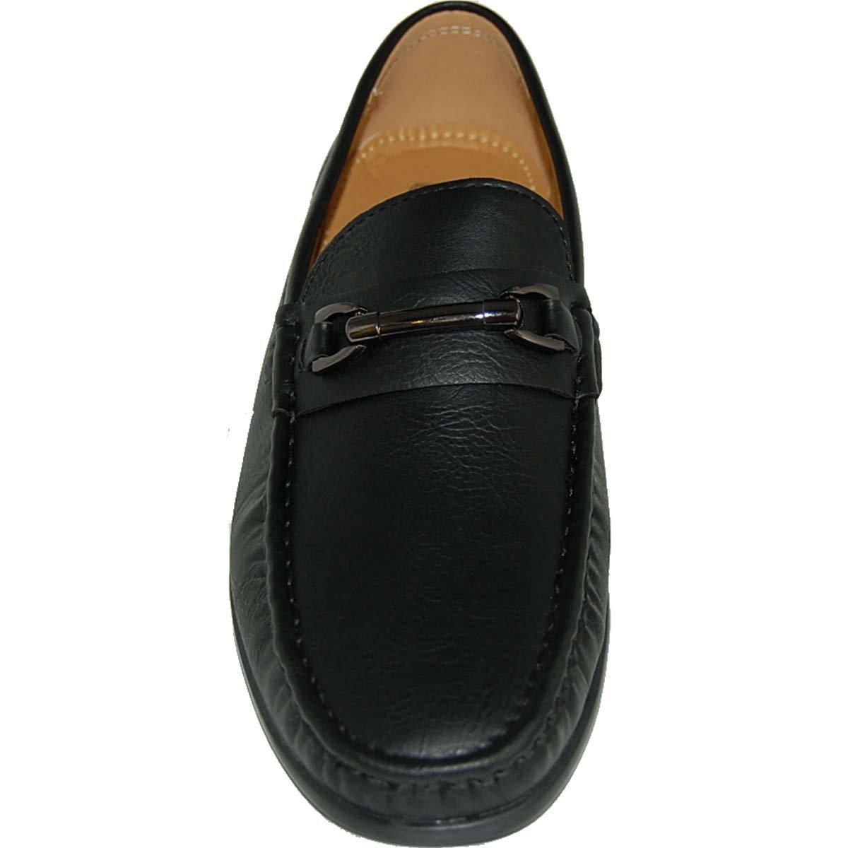 Shoe Artists High Level Black Loafers