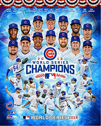 Chicago Cubs 2016 World Series Champions Team Photo (8