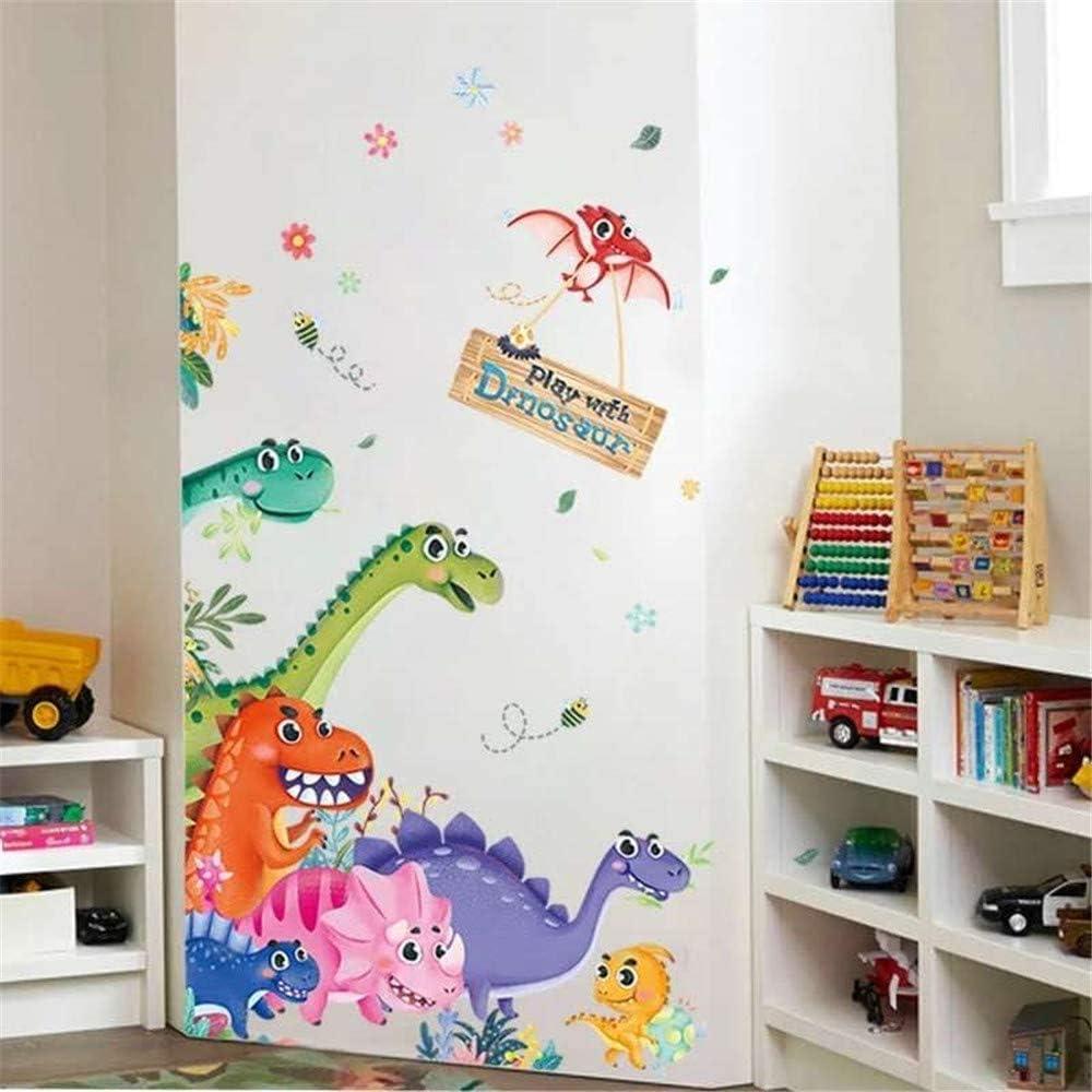 Exquisite Big Dinosaur Wall Stickers Phrase Vinyl Dinosaur Wall Decals Sticker
