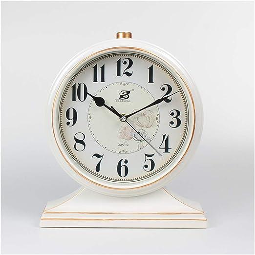 SMC Reloj de escritorio Retro Europeo Plástico Hogar Reloj de Mesa ...