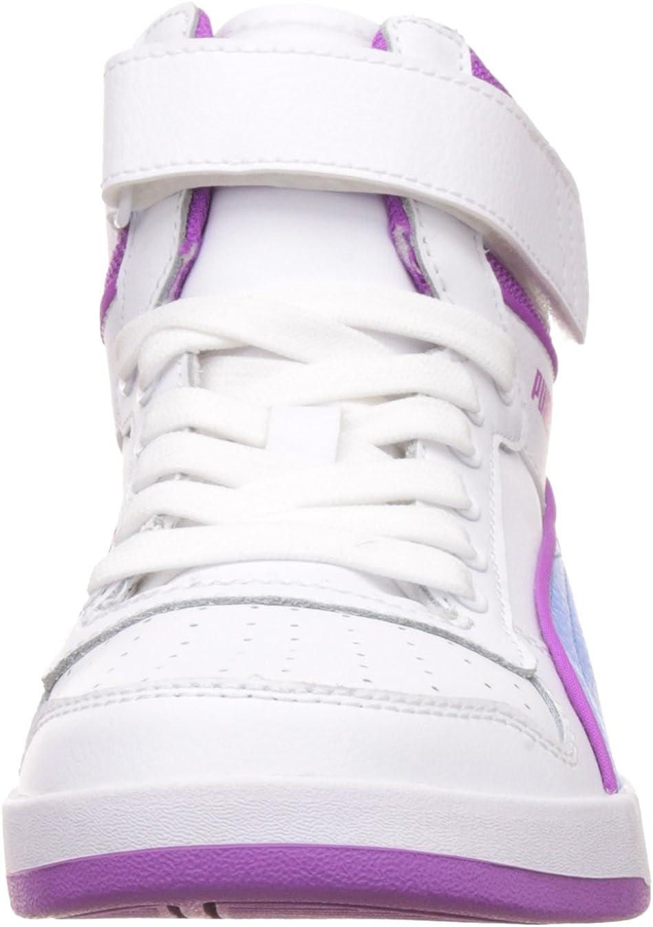 Sneakers Liza mid dazz V PS Nero-Lavanda Bambino
