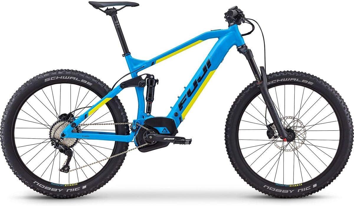 Fuji - Blackhill Evo LT 27.5+ 1.3 Intl E-Bike 2019 - Bicicleta eléctrica (54 cm), color cian: Amazon.es: Deportes y aire libre