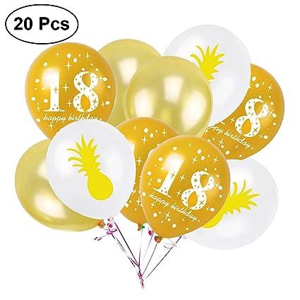 OULII Decoraciones de la Fiesta de Cumpleaños 18 ...