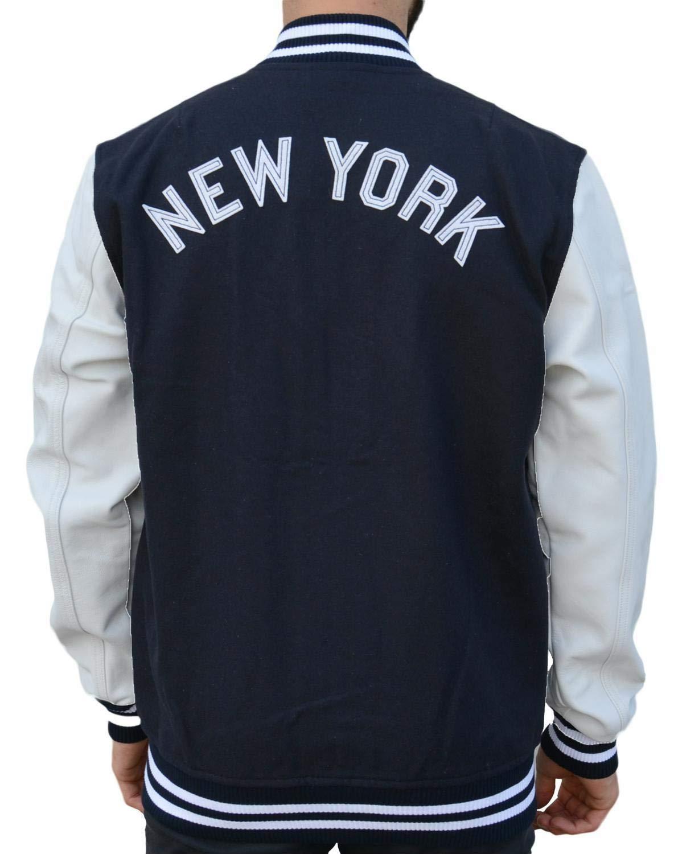 A NEW ERA Ne90102fa16 CT Letterman Neyyan Chaqueta-Línea York Yankees, Hombre: Amazon.es: Deportes y aire libre